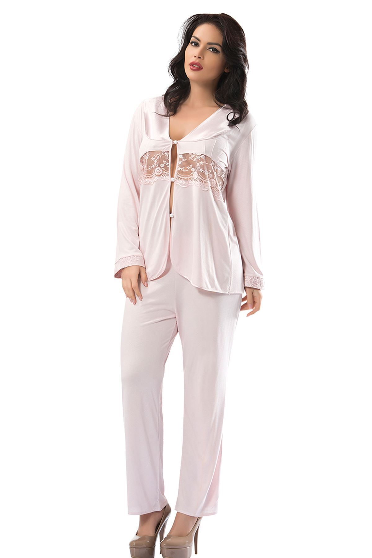 Sistina 1597 Penye Çeyizlik Pijama Takım