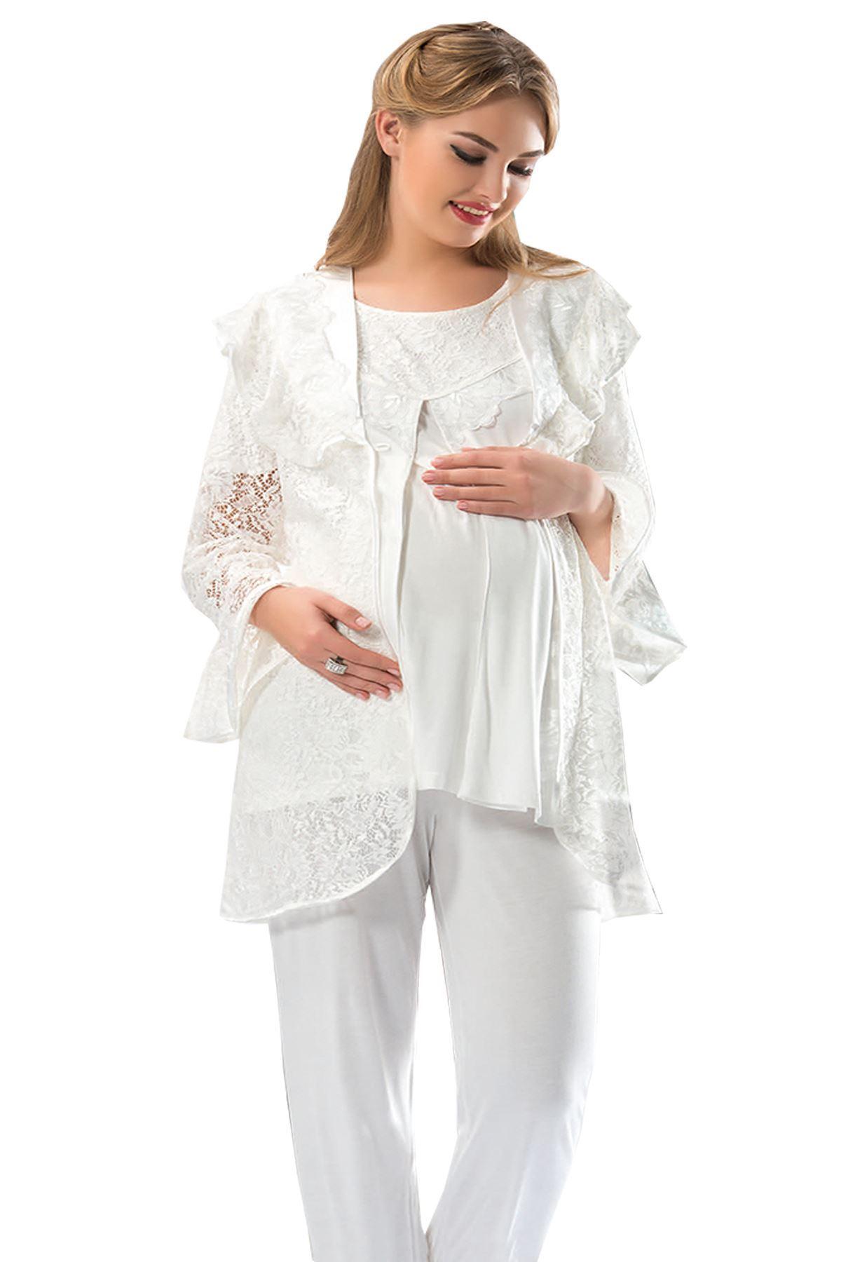 Sistina 1303 Lohusa Pijama Takımı