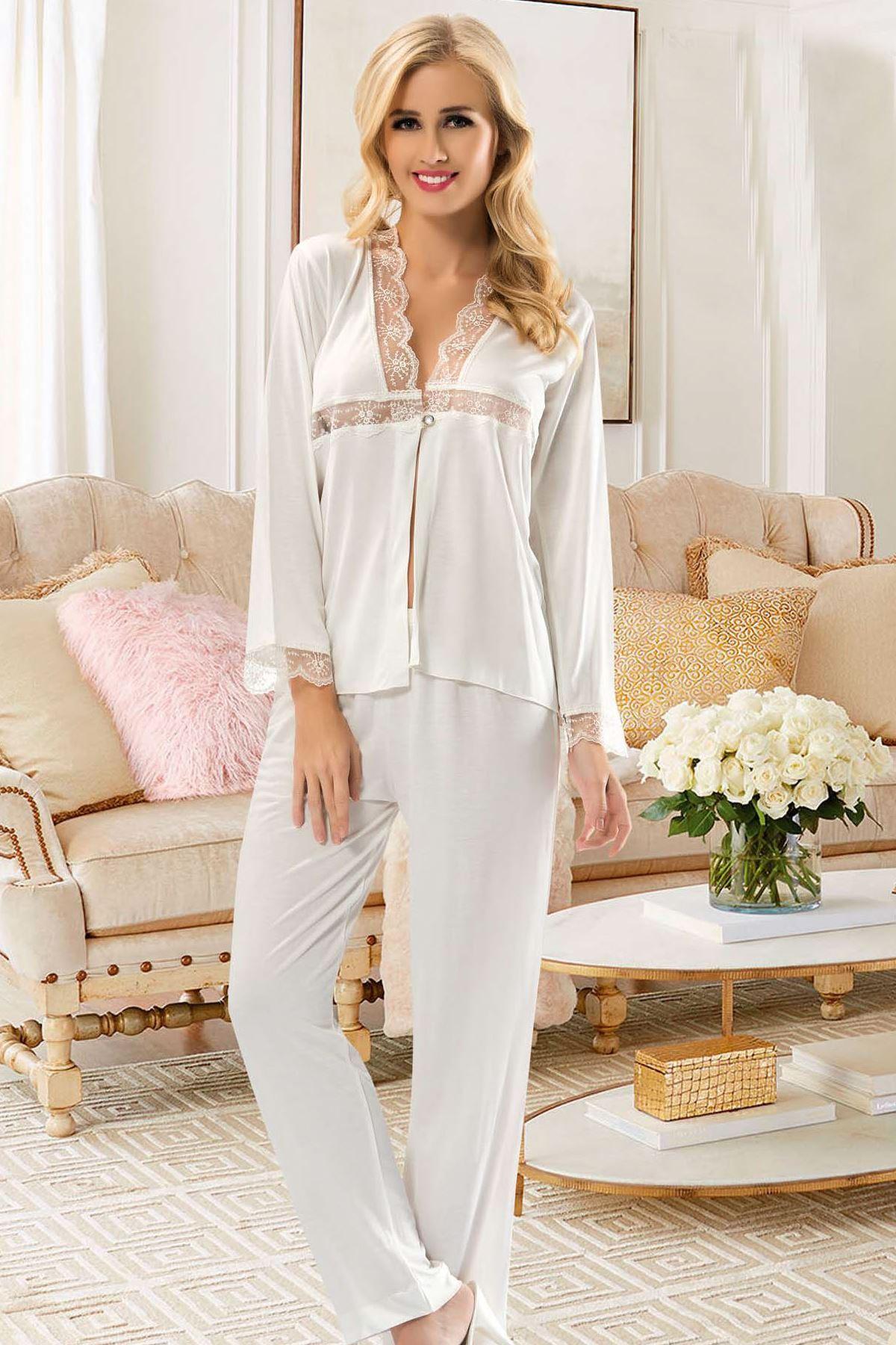 Sistina 1557 Penye Pijama Takım
