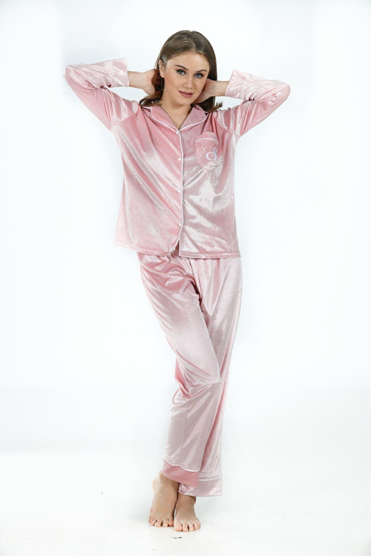 Sistina 1641 Kadife Pijama Takım