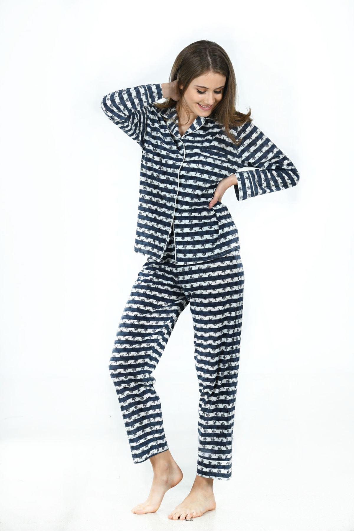 Sistina 1611 Penye Pijama Takım