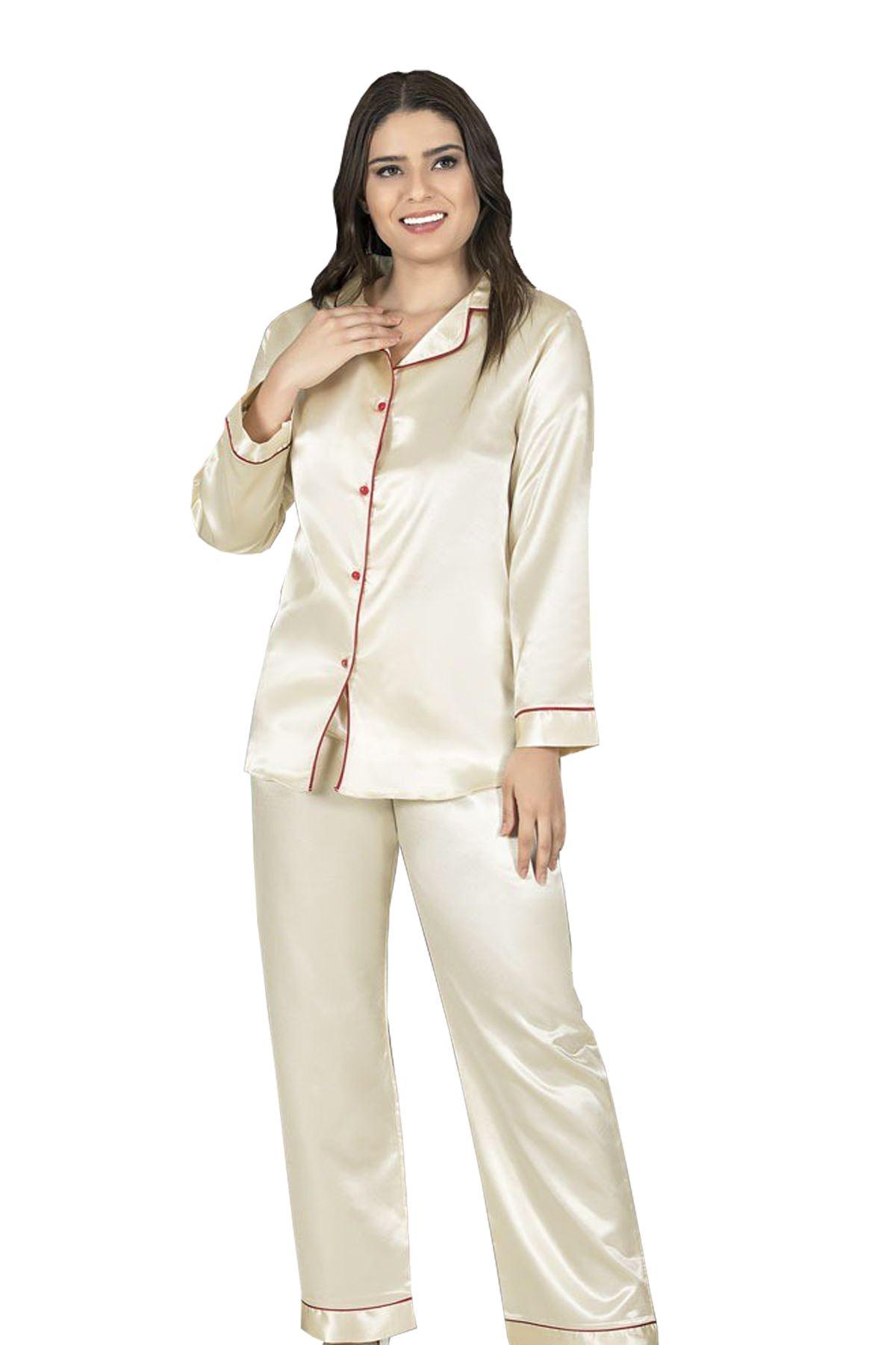 Sistina  1628 Saten Pijama Takım